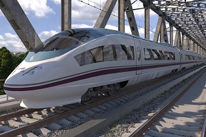 High-speed Train Siemens Velaro AVE