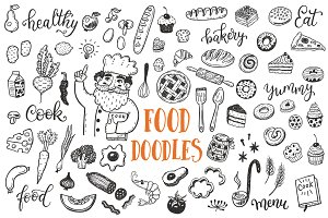Food dooles set + patterns