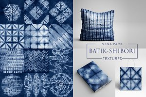 WINTER SALE -80%!  Shibori