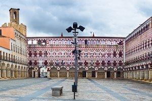 High square, Badajoz