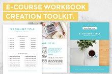 E-Course Workbook Creation Toolkit