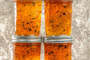 Homemade pepper jelly