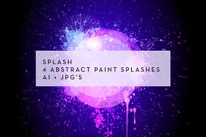 Splash: 4 background circles