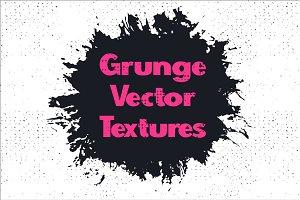 Grunge vector seamless textures