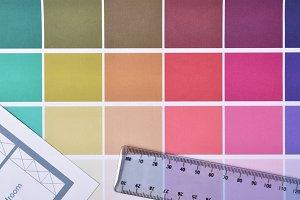 Color palette for housing decoration