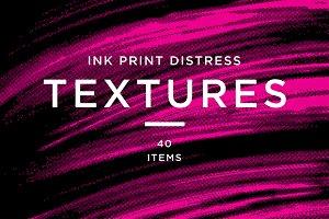 INK PRINT TEXTURES