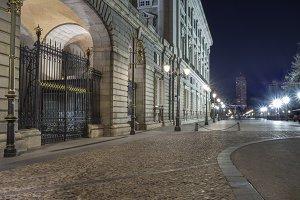 Madrid Royal Palace at night (Spain)