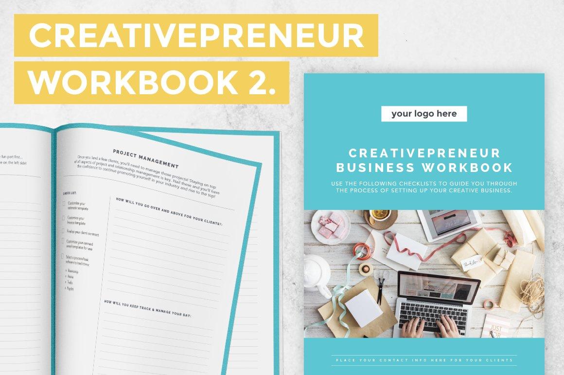 Creativepreneur Startup Workbook 2 ~ Templates ~ Creative Market