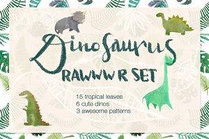 Rawrr dinoset