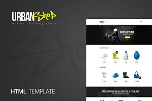 Urbanshop - Creative Shop Template