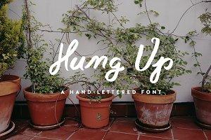 Hung Up - A Script Font