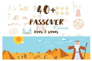 Passover icons & scenes