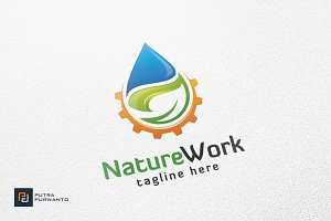 Nature Work - Logo Template