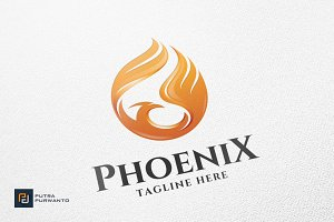 Phoenix / Bird - Logo Template