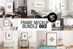 Frame Mockup Bundle 002 - 50% OFF