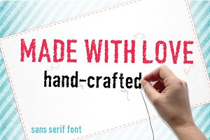Made with love font