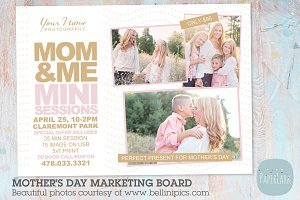 IM011 Mother's Day Marketing Board