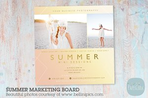 IH014 Summer Marketing Board