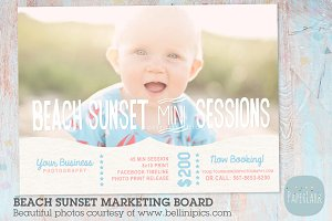 IG001 Beach Sunset Marketing