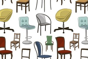 Set of chairs pattern