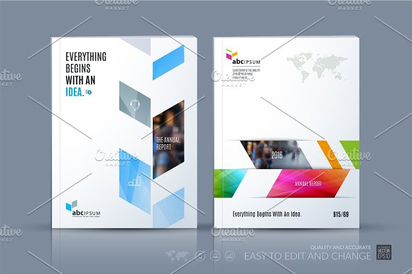 Business Vector Template Brochure Layout Cover Modern Design A - Brochure layout template