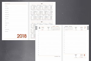 Diary planner for new year