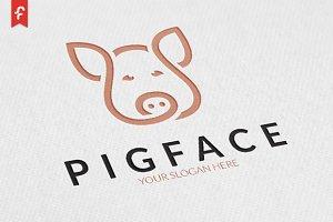 Pig Face Logo