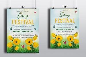 Spring Festival Flyer-V491