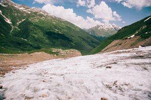 Mountain landscape travel.