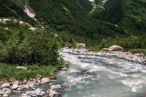 Mountain Valley river.