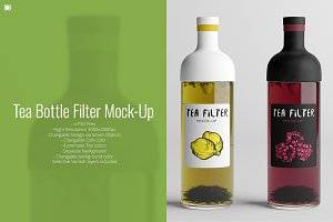 Tea Bottle Filter Mock-Up