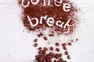 coffee break concept