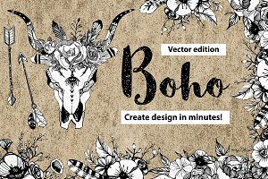 THE BEST boho chic clip-art