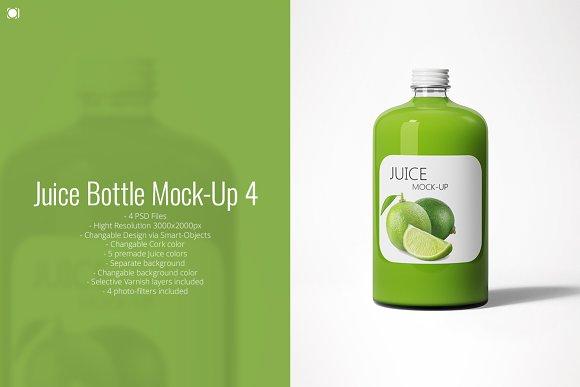 Download Juice Bottle Mock-Up 4