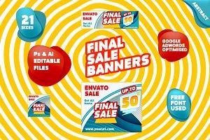 Final Sale Banner Pack
