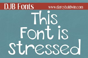 This Font is Stressed