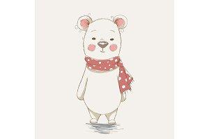 cute funny bear