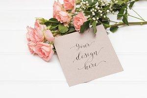 Mockup. Valentine's Day & Love. #14