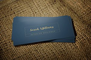 Classic Business Card Template