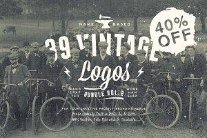 NameBased Vintage Logos Bundle Vol.2