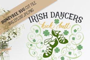 Irish Dancers Kick Butt cut file
