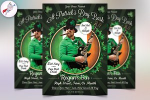 St Patrick's Day Bash Flyer