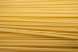 Yellow long spaghetti