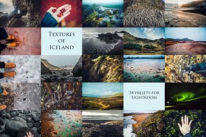 Textures of Iceland-34 presets forLr