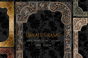 Ornate Frame PNG Clipart
