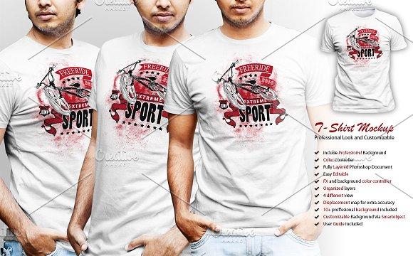 Download Professional Tshirt Mockup Vol-2