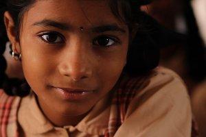 India Orphan Girl