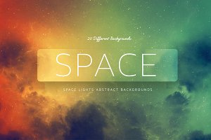 Space Lights Abstract Backgrounds