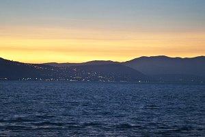 Israel Sea of Galilee Sunset