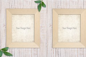 4 Styled Stock Photo Frame Mockup